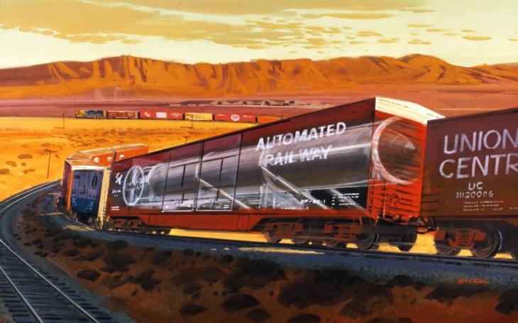 Peacekeeper Rail Garrison – mezikontinentální rakety měly na Sovětský svaz udeřit z vlaků