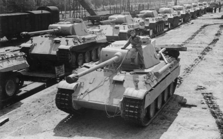 Nacistické Panthery likvidovaly sovětské tanky po stovkách