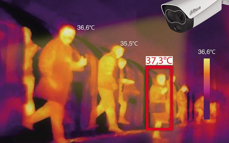 #Covid19 a superrychlý systém pro měření teploty lidského těla na veřejnosti