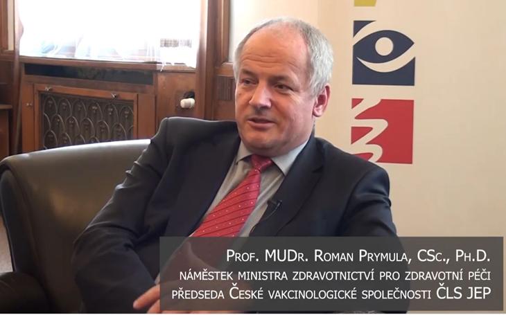 Náměstek MZ Prymula: nynější opatření určitě povedou k prudkému zpomalení epidemie