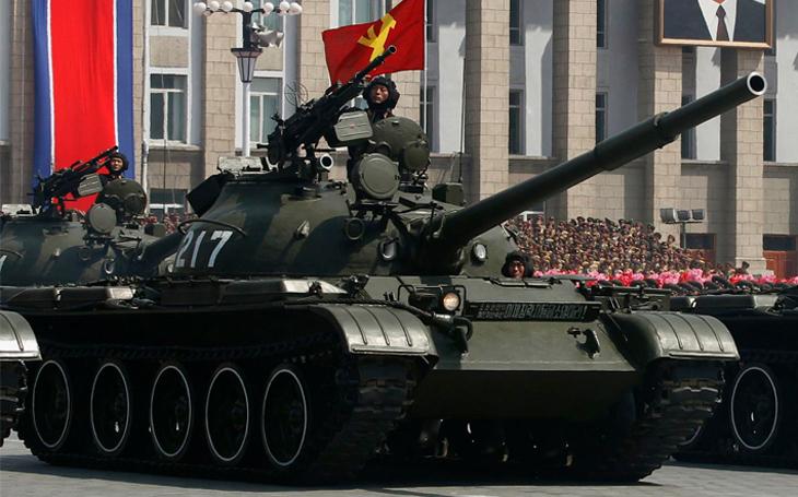 Severokorejské tanky - Znouzecnost &quote;modernizace&quote; sovětské techniky z druhé světové