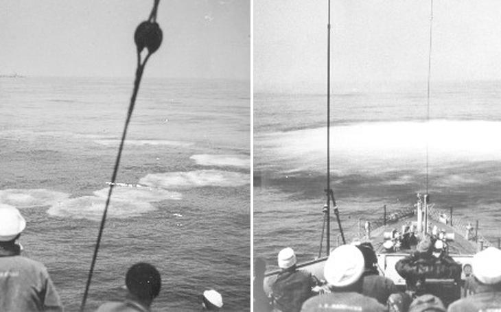 Admirál Dönitz nařídil kapitulaci. Možná porucha vysílačky německého &quote;Moby Dicka&quote; dokonala dílo zkázy