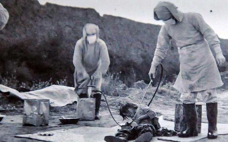 ,,Japonský koronavirus&quote; jako biologická zbraň. Jeden z největších zločinů císařské armády za druhé světové války