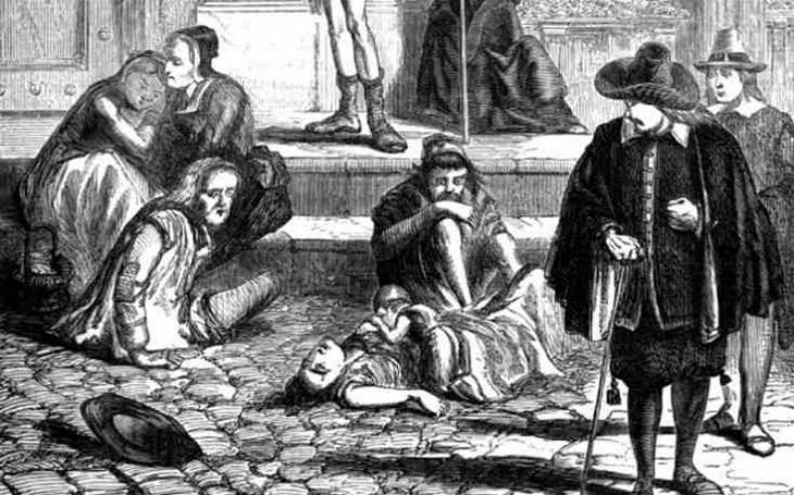 Velký londýnský mor zdecimoval v 17. století 100 000 lidí. Anglický král v panice utekl