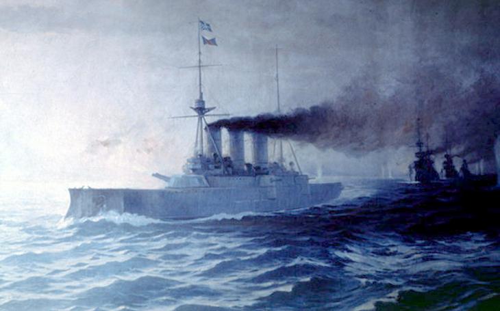 Poškozená vlajková loď, zlomená morálka. Den, kdy Řekové porazili početnější Turky