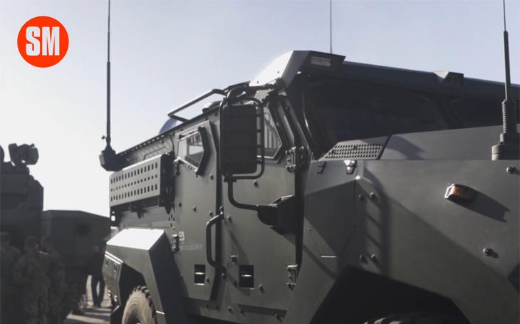 Taktické obrněné vozidlo Patriot II na Dnech NATO 2019 - nepřekonatelná pohyblivost podvozku Tatra