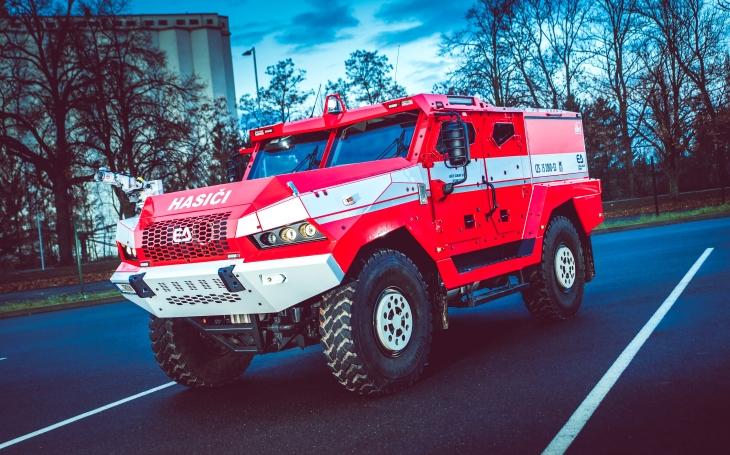 Pancéřovaný TRITON na podvozku Tatra pro české hasiče