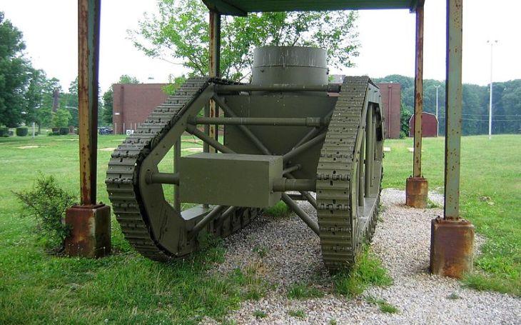 Nepovedený experiment z první světové války. Americká kuriozita Skeleton tank už na bojiště nezasáhla