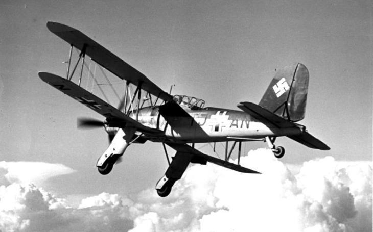 Stroj, který nikdy nevzlétl z letadlové lodě Graf Zeppelin. Nakonec jen ,,naháněl&quote; jugoslávské partyzány