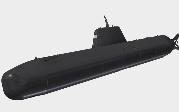 Nová autonomní ponorka Manta pro Royal Navy