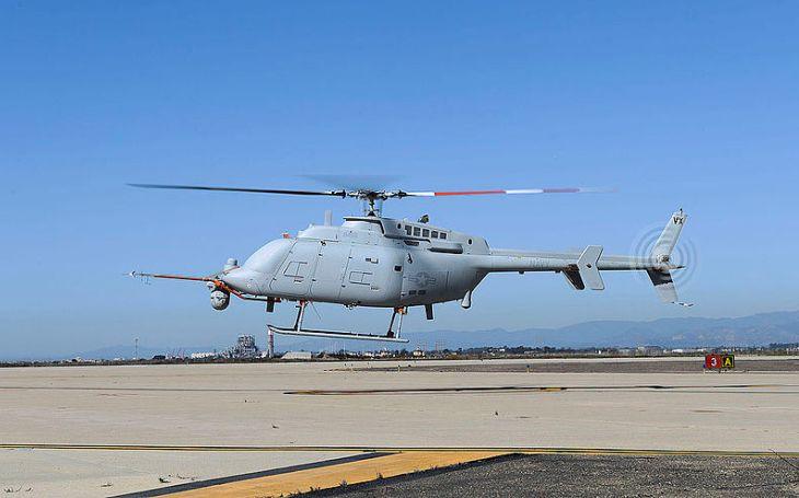 Bezpilotní vrtulník MQ-8C Fire Scout se má připojit k US Navy v roce 2021