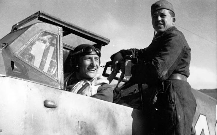 Slovenský elitní letec, který dostal německý Železný kříž druhé třídy. Izidor Kovárik nakonec zahynul v plamenech
