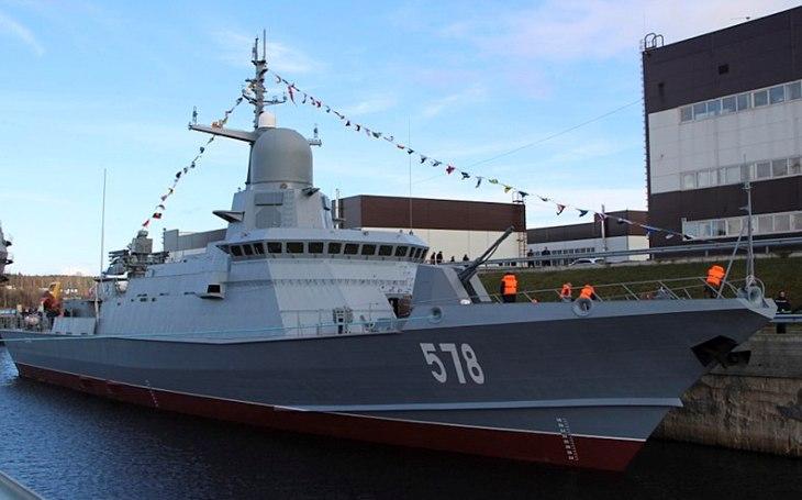 Ruskou Baltskou flotilu posílí korvety s protivzdušnými systémy Pancir-M a raketami Kalibr