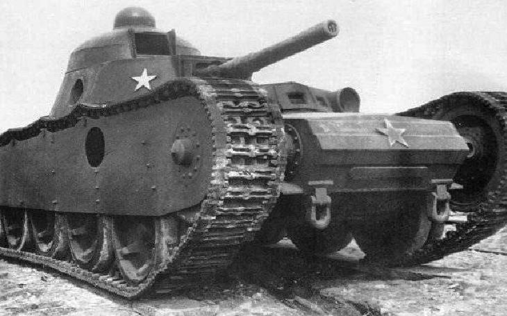 Na tanku Grotte spolupracovali budoucí soupeři na život a na smrt, SSSR a Německo