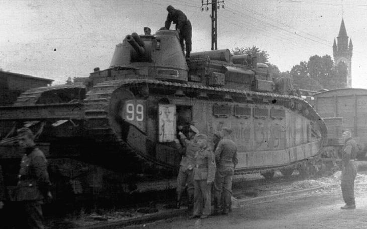 Francouzské nesmysly a přehmaty:  Supertěžký tank se sedmi nádržemi a pohyblivá  pevnost s váhou plejtváka