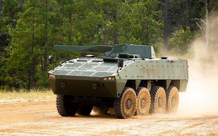 Společnost Patria a americká armáda uzavřely dohodu o studii proveditelnosti minometného systému Patria Nemo 120 mm