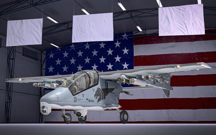 AHRLAC alias Bronco II nabízen americkému velitelství speciálních sil