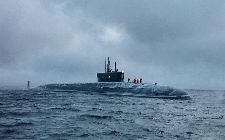 VIDEO: Novináři poprvé na nejmodernější ruské jaderné ponorce K-549 Kňaz Vladimir