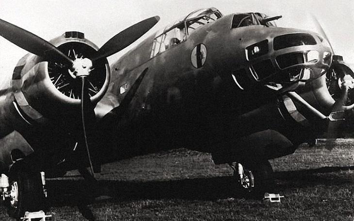 Italský unikát: Těžký bombardér Piaggio P.108. ,,zabil&quote; Mussoliniho syna
