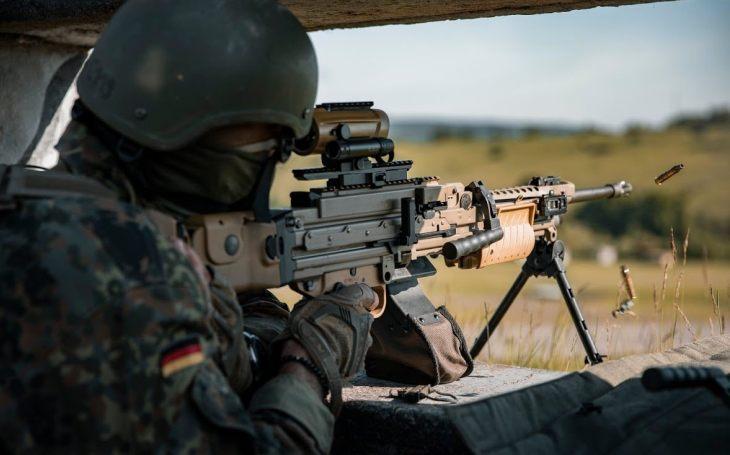 VIDEO: Německá armáda testuje novou verzi kulometu MG4