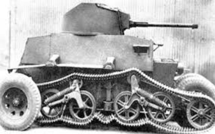 Novozélandská zbraň proti japonské invazi - lehký tank Schofield s netradičním designem
