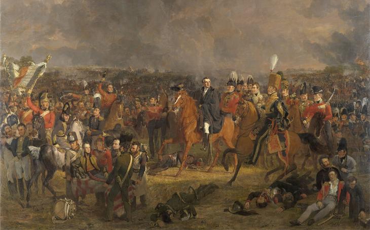 Bitva u Waterloo, Napoleonův definitivní pád a jejich otrokářské souvislosti