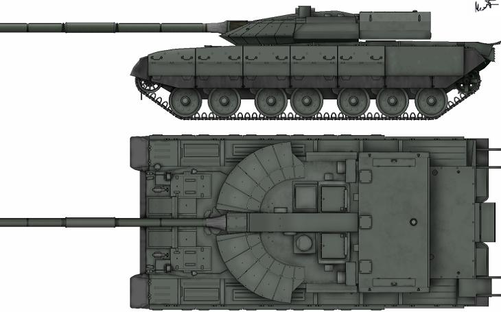Konec ruského Černého orla. Nadějný tank byl nakonec utopen v problémech