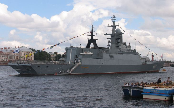 40 dalších válečných plavidel pro ruské námořnictvo do konce tohoto roku