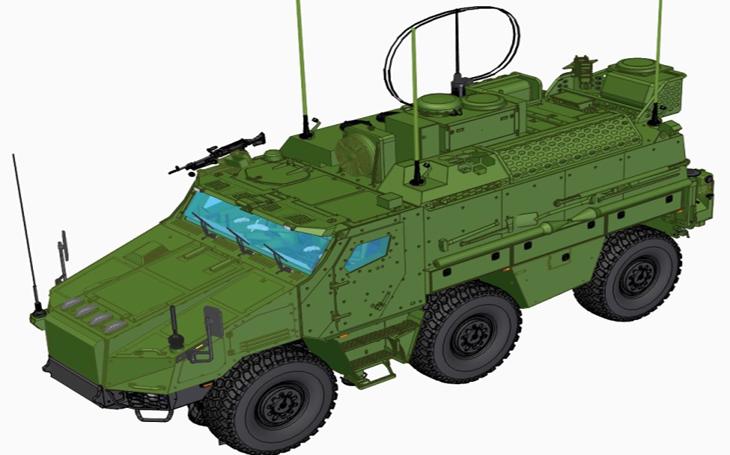 TITUS – novinka pro českou armádu získává konkrétní podobu