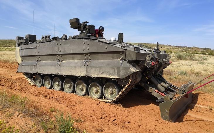 Španělská armáda dostane nová ženijní vozidla Castor