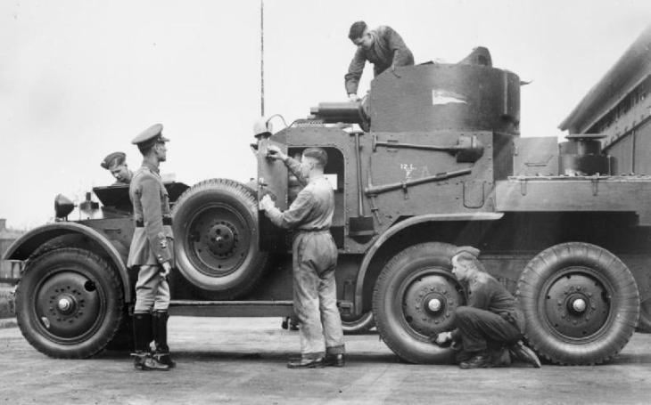 Obrněné vozidlo Lanchester: V Malajsii utrpělo fiasko, válku přežil jen jeden kus