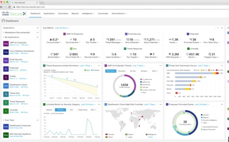 Cisco přichází s platformou SecureX, zjednoduší zabezpečení a bude součástí všech bezpečnostních produktů