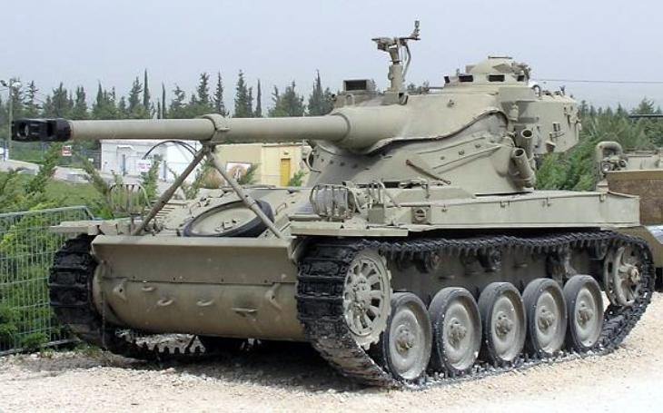 AMX-13 - první moderní izraelský tank, v šestidenní válce však zklamal očekávání