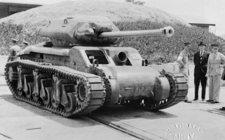 I Austrálie uměla vyrobit tanky. Sentinely však přímé bojové nasazení nezažily