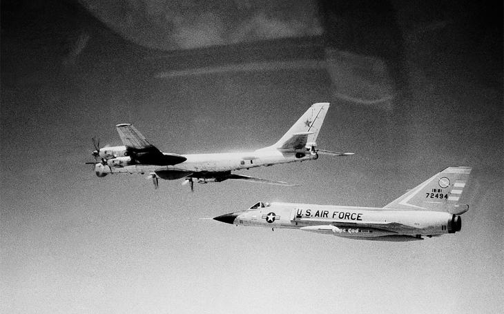 Záchytný stíhací letoun F-106 Delta Dart na protivníka nikdy nevystřelil