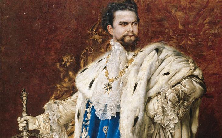Poněkud výstřední král - válce nerozuměl, ale umění a architektura vzkvétaly