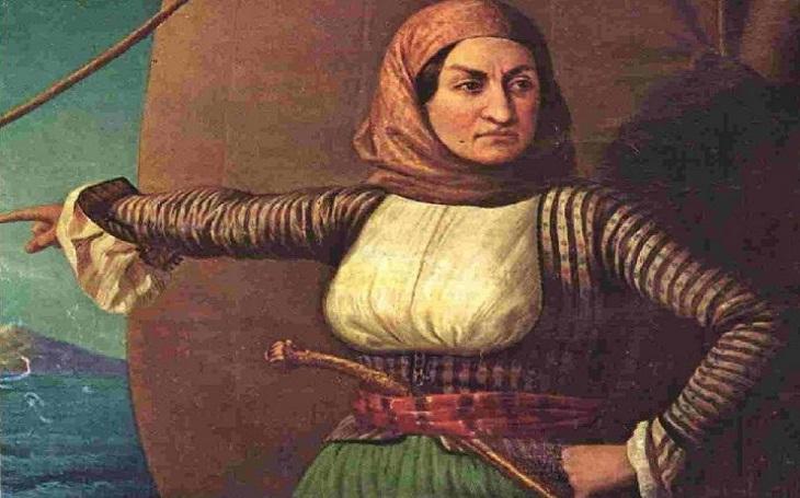 Laskarina Bubulina: Řecká národní hrdinka a posmrtně jediná žena-admirálka v ruském námořnictvu