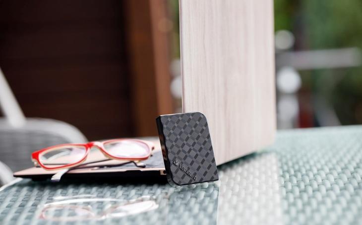 Úložný disk Store´n'Go Mini SSD, který se vám vejde do dlaně