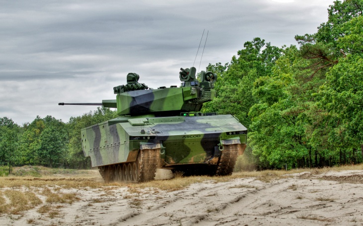 ASCOD 42 – univerzální obrněnec plnící požadavky české armády