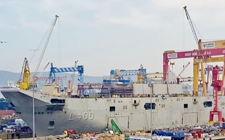 Kolik tureckých letadlových lodí je potřeba na odstrašení nepřítele? Erdogan má jasno