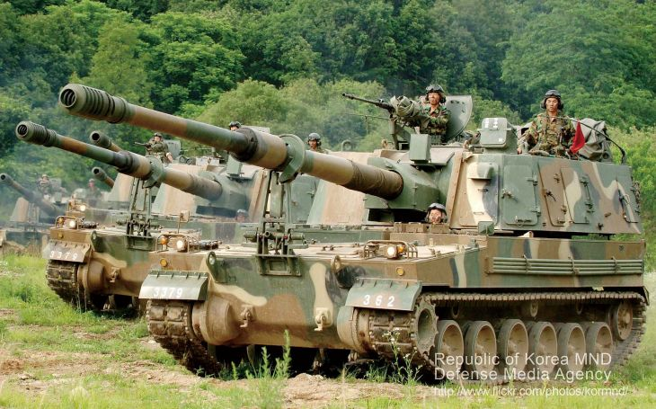 Australskou armádu posílí 30 jihokorejských samohybných houfnic K9 Thunder