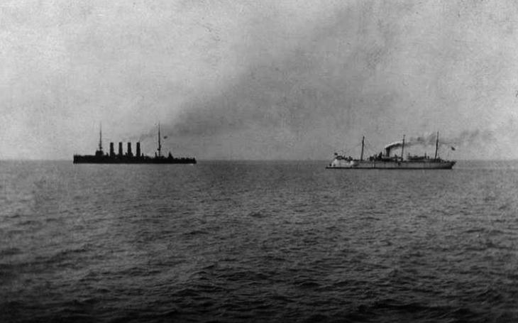 Nerovná bitva u Čemulpcha: Jak ruský kapitán odmítl kapitulovat a nakonec dostal japonský řád od císaře