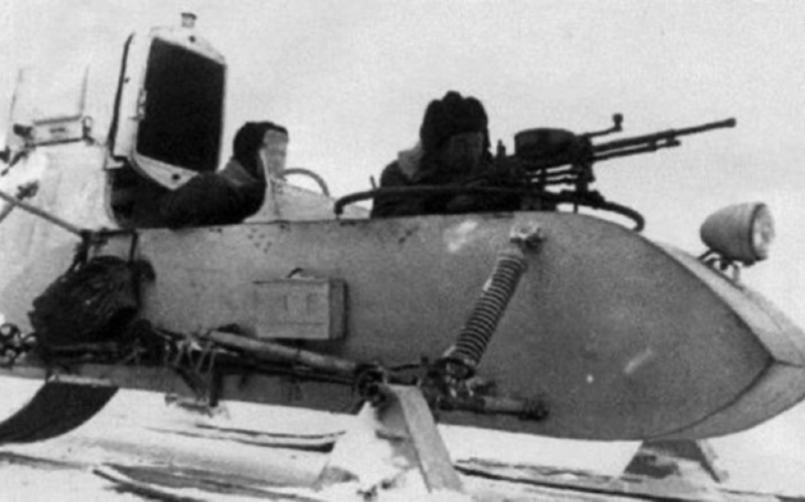Aerosaně RF-8 byly postrachem německých jednotek u Stalingradu
