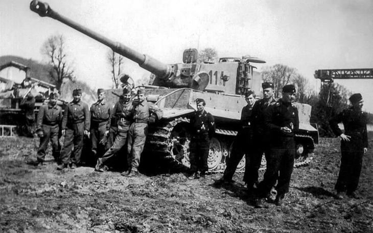 Maďarské Tigery prodělaly několik nacistických defenzív - Rudou armádu zastavit nemohly