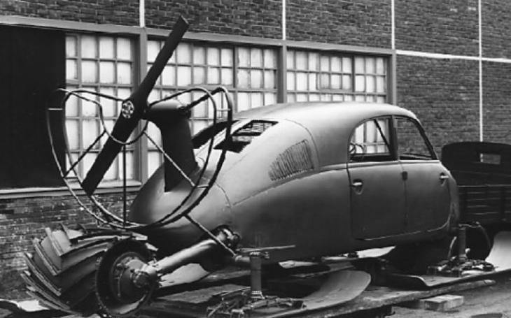 Aerosaně Tatra V855 měly být nacistickou odpovědí na sovětská sněžná vozidla