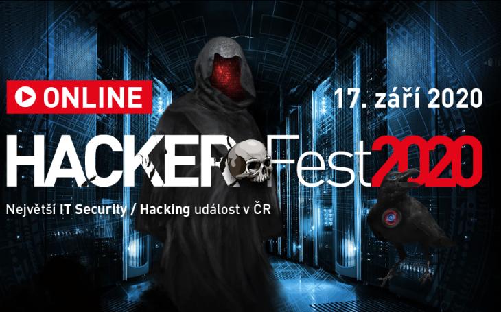 Letošní HackerFest se uskutečnil on-line, nabídl praktické rady IT profesionálům