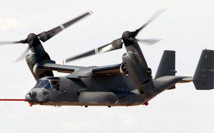 Izrael má znovu vyjednávat o nákupu konvertoplánů V-22 Osprey