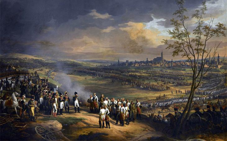 Napoleonovo tažení roku 1805 inspirovalo nepřátele Francie ještě o sto let později