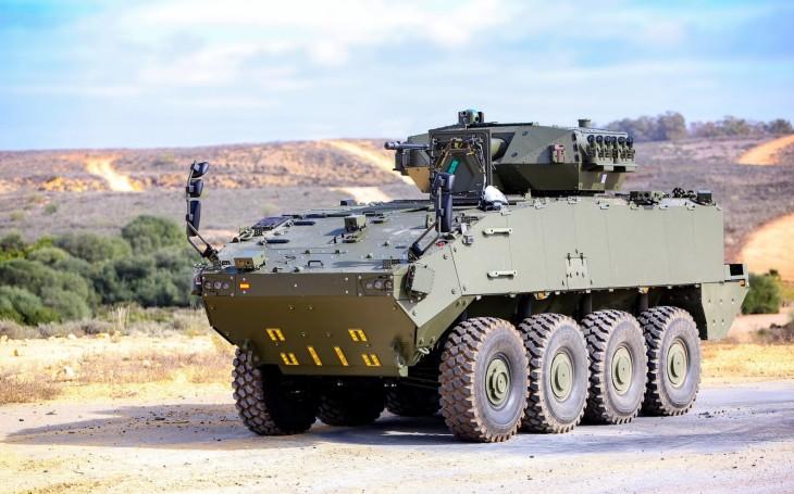 GDELS dodá španělské armádě 348 obrněnců Piranha
