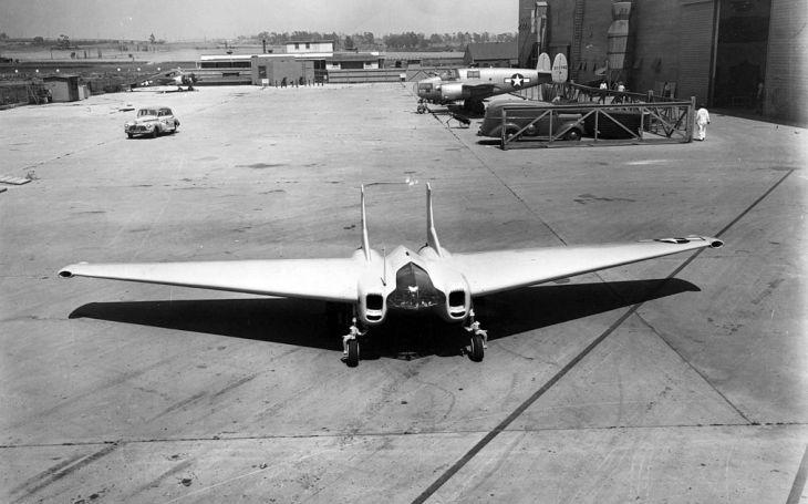 Proudový XP-79 měl likvidovat nepřátelské letouny taranem, ambiciózní projekt však pohřbil už první let
